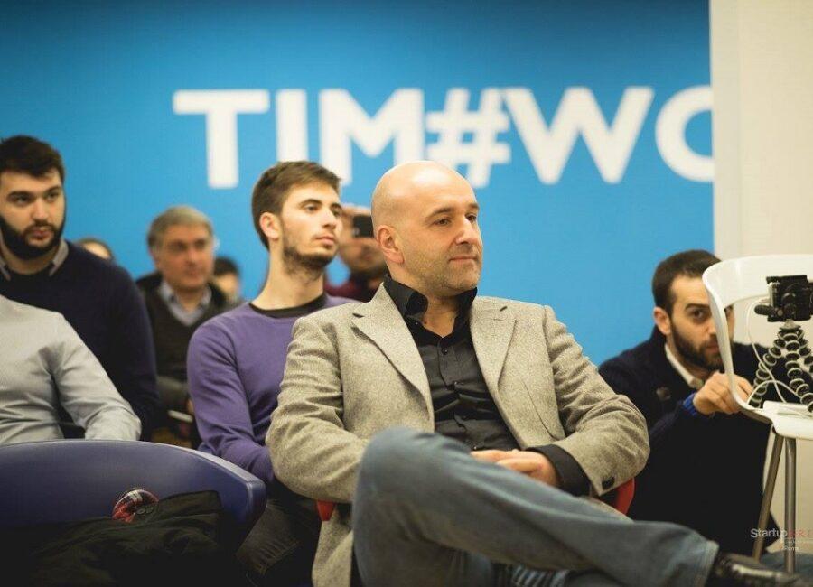 Claudio Rossi Imprenditore e Business Coach al Tim Wcap: speaker all'evento Google For Entrepreneurs