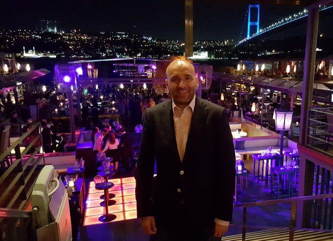 Claudio Rossi Imprenditore e Business Coach a Istanbul Reina, il più bel nightclub del mondo
