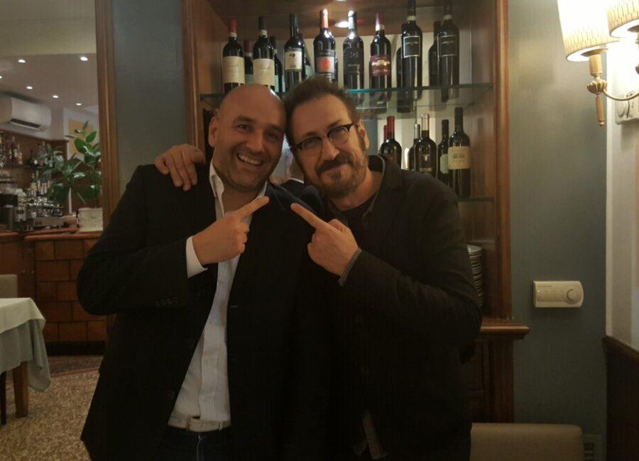 Claudio Rossi Imprenditore e Business Coach con Marco Giallini