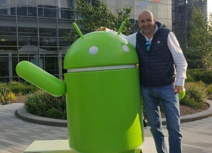Claudio Rossi Imprenditore e Business Coach negli uffici Google a Mouintain View