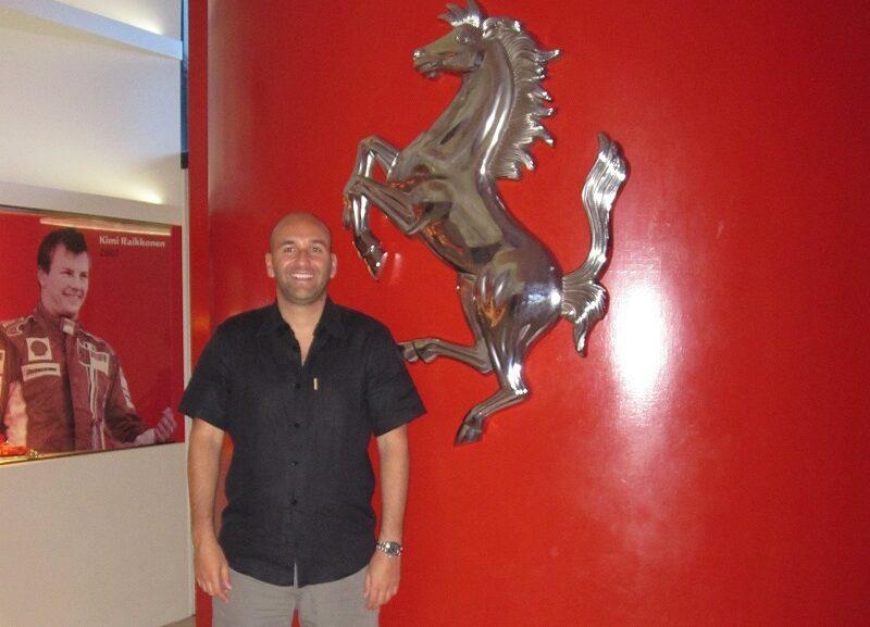 Claudio Rossi Imprenditore e Business Coach al museo Ferrari