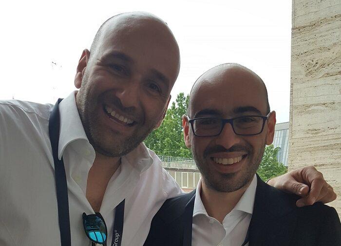 Claudio Rossi Imprenditore e Business Coach con Salvatore Aranzulla