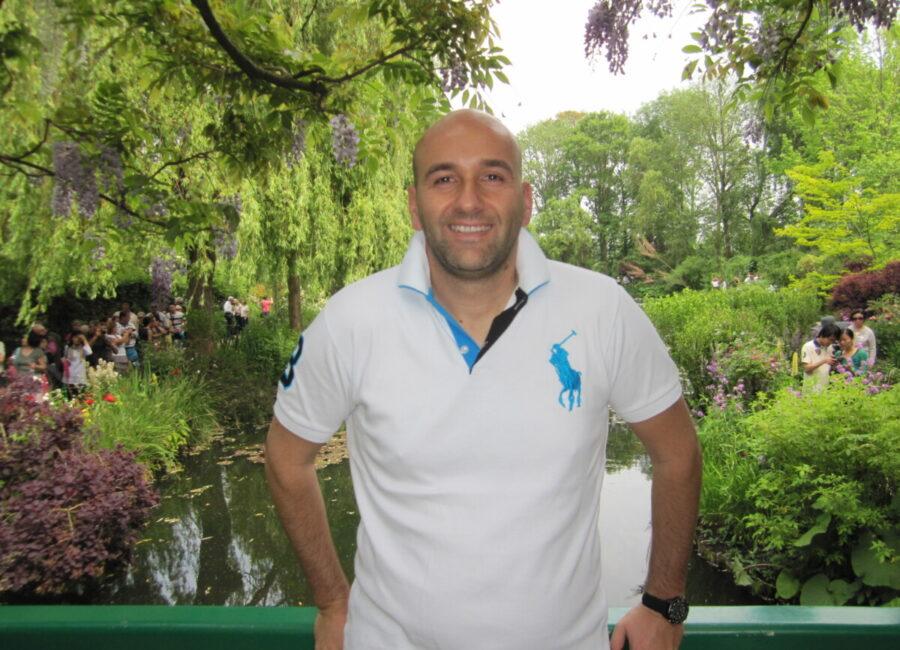 Claudio Rossi Imprenditore e Business Coach a Giverny, casa e giardino di Claude Monet (foto allegata)