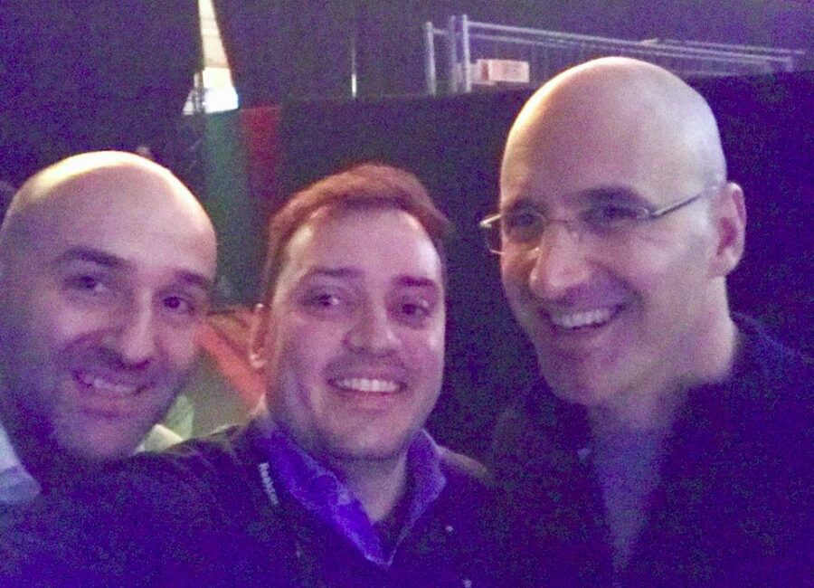 Claudio Rossi Imprenditore e Business Coach con Riccardo Zacconi e Antonio Vecchio