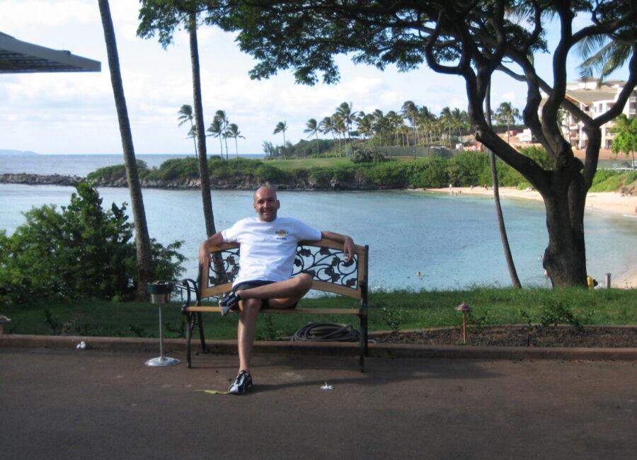 Claudio Rossi Imprenditore e Business Coach alle Hawaii