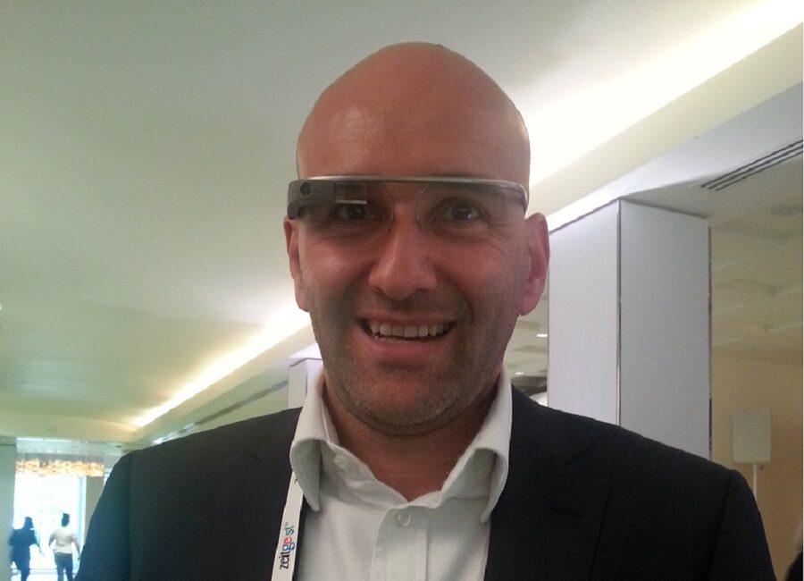 Claudio Rossi Imprenditore e Business Coach allo Zeitgeist con i Google Glass